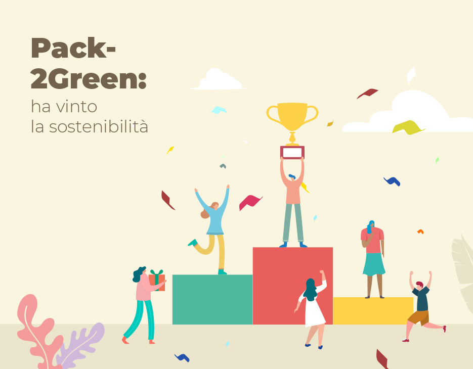 Pack2Green: ha vinto la sostenibilità